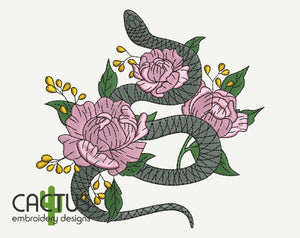 Viper Embroidery Design
