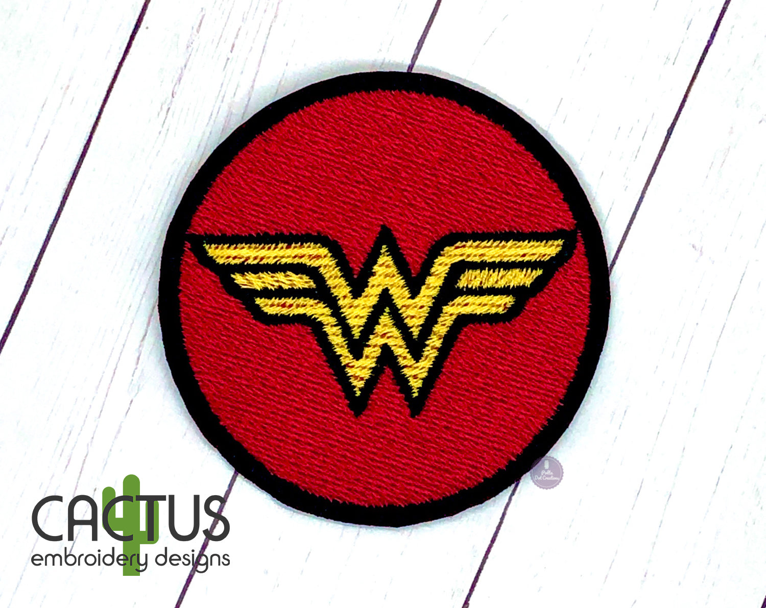 Wonder Woman Machine Embroidery Design