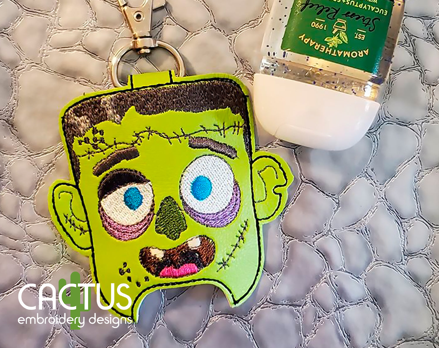 Zombie Sanitizer Holder, SMALL and LARGE sizes
