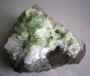 Brandberg Prehnite and Quartz Specimen