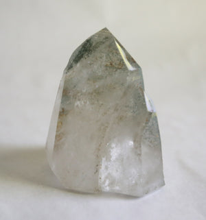Double Pointed Chlorite Quartz Tower