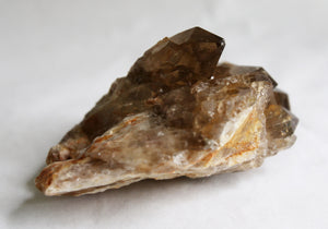Natural Smoky Citrine Cluster