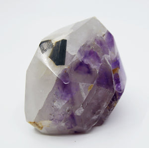 Amethyst with Black Tourmaline