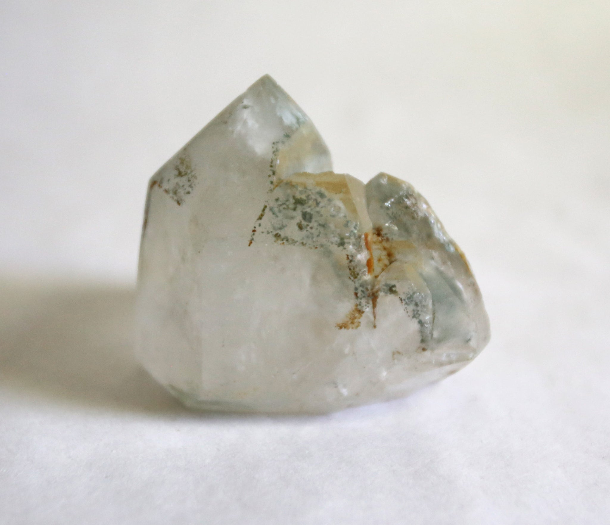 Chlorite Quartz Tower with Four Facets