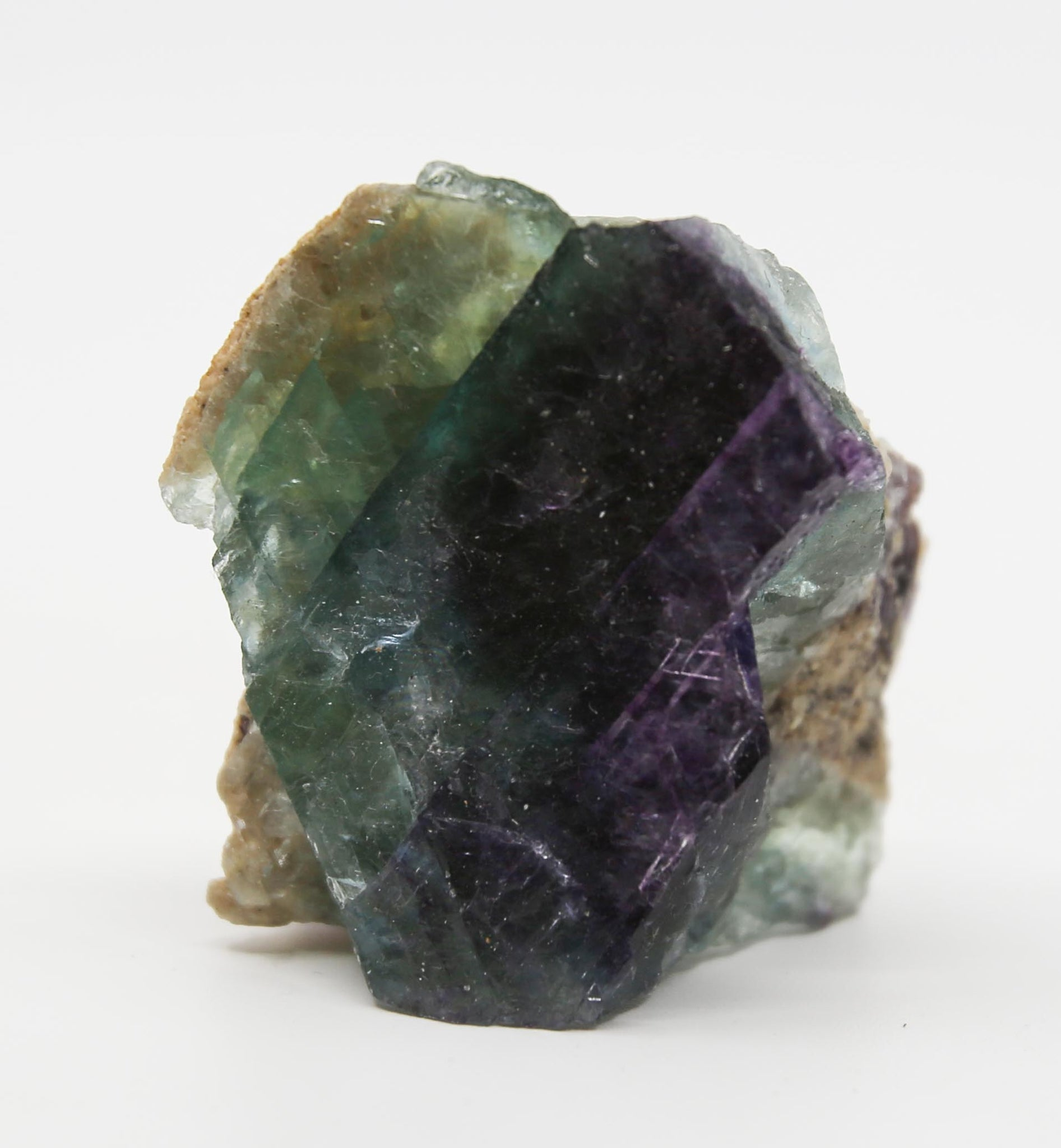 Natural Rainbow Fluorite Crystal