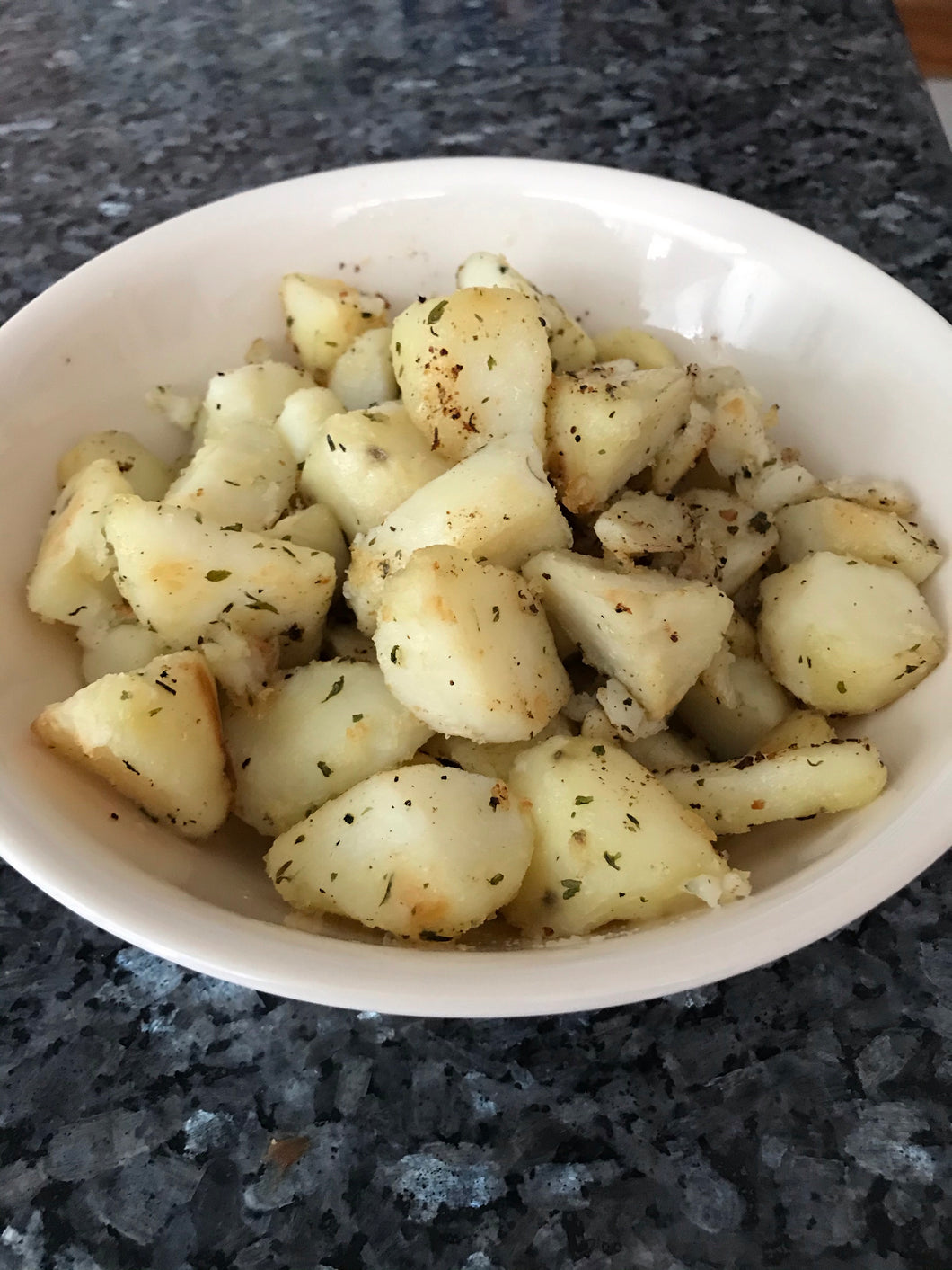 Herb Roasted Potatoes for 2