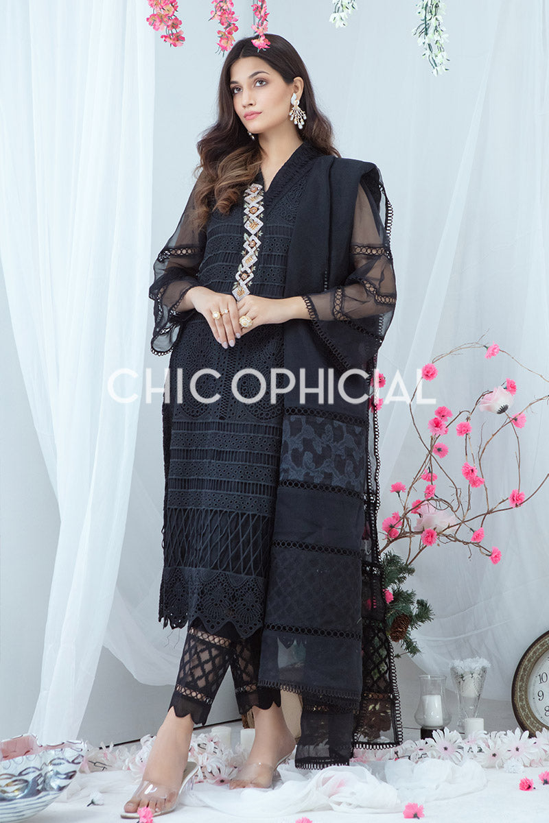 Cutwork Black