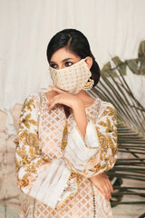 Ivory Gold Mask Add on:
