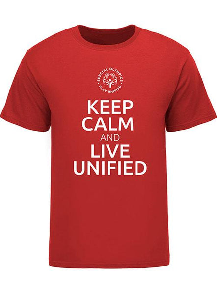 Keep Calm and Live Unified Tee