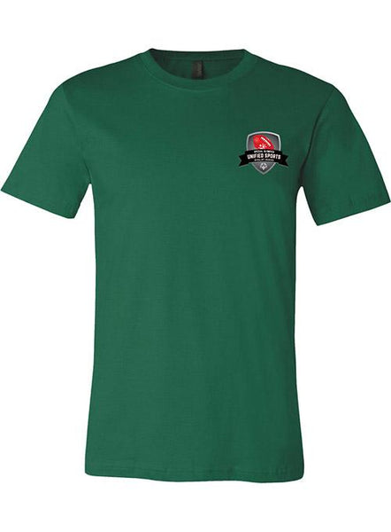 Unified Sports Football Rivalry Series T-shirt-Forest Green