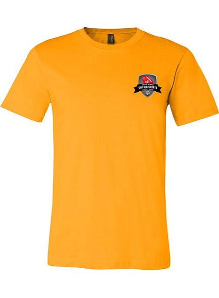 Unified Sports Football Rivalry Series T-shirt-Gold