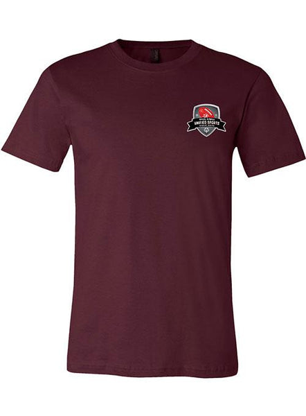 Unified Sports Football Rivalry Series T-shirt-Maroon
