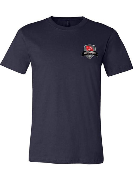 Unified Sports Football Rivalry Series T-shirt-Navy Blue