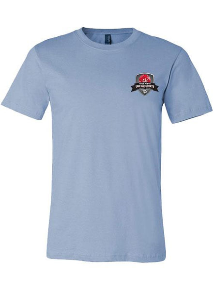 Unified Sports Basketball Rivalry Series T-shirt-Baby Blue