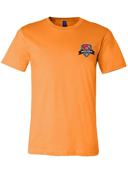 Unified Sports Basketball Rivalry Series T-shirt-Orange