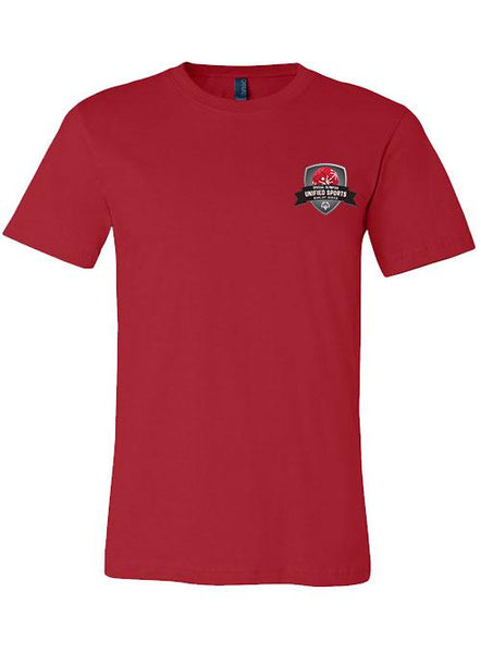 Unified Sports Basketball Rivalry Series T-shirt-Red