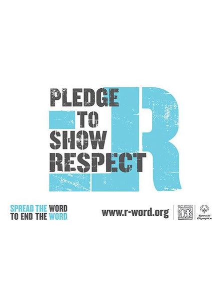 Pledge to Show Respect Banner