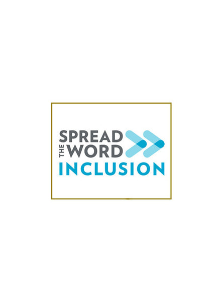 Spread the Word Inclusion Hat Pin