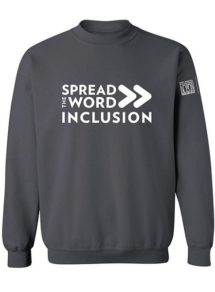 Spread the Word/Inclusion Crewneck Sweatshirt