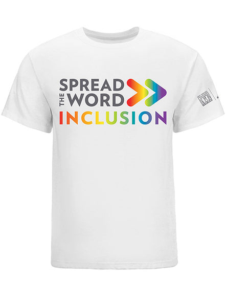 SPREAD THE WORD/INCLUSION PRIDE TEE