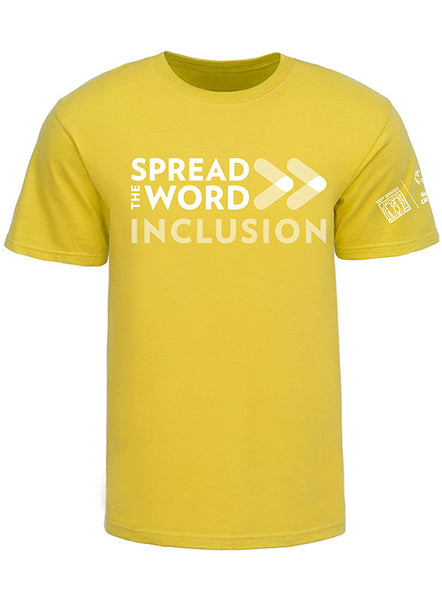 SPREAD THE WORD/INCLUSION DAISY TEE