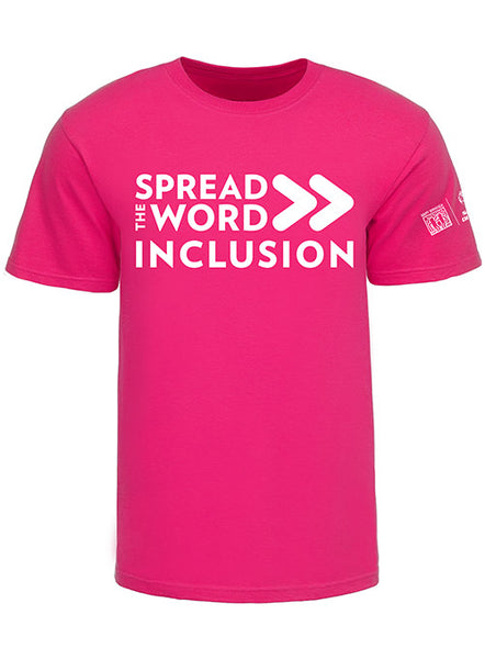SPREAD THE WORD/INCLUSION HELICONIA TEE