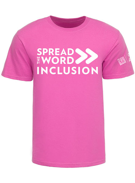 SPREAD THE WORD/INCLUSION AZALEA TEE