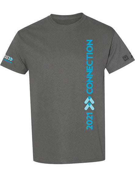 2021 CONNECTION CHARCOAL TEE