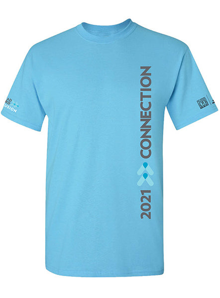 2021 CONNECTION SKY BLUE TEE