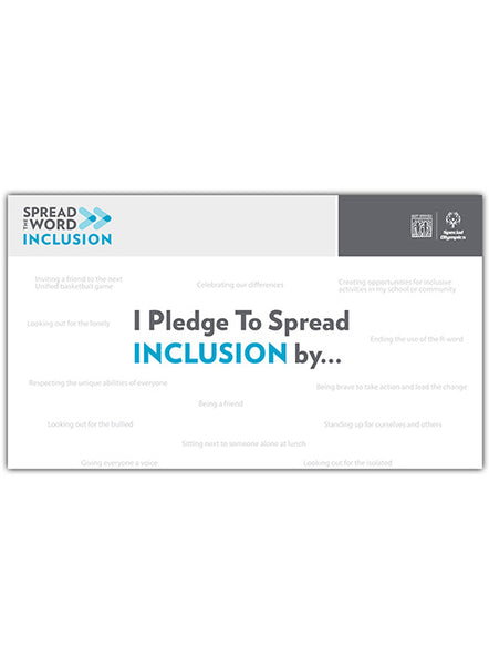 Spread the Word Inclusion Banner