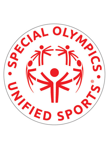 Special Olympics Iron On Patch - White (10-pack)