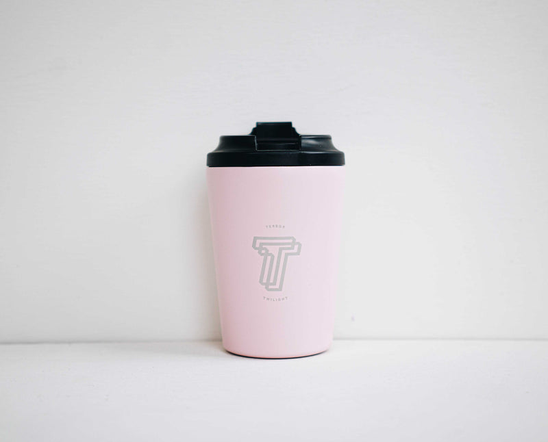 Small Terror Twilight Reusable Cup in Pink 8oz