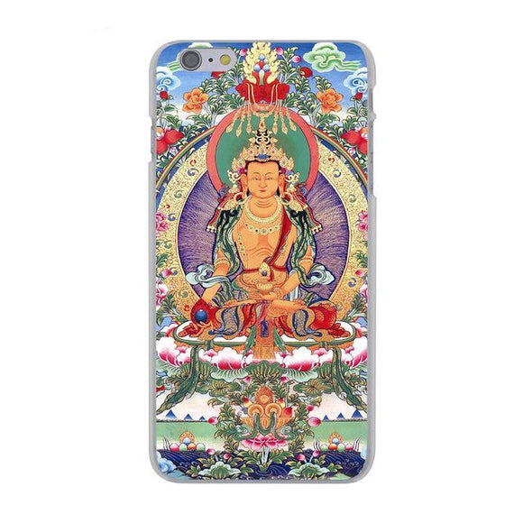 Buddha India Hard Cover Case for Apple iPhone