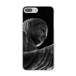 Black Buddha India Hard Cover Case for Apple iPhone