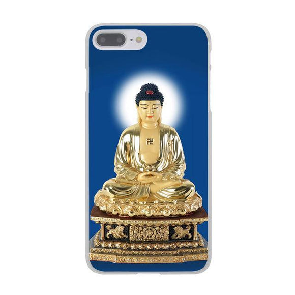 Golden Buddha India Hard Cover Case for Apple iPhone