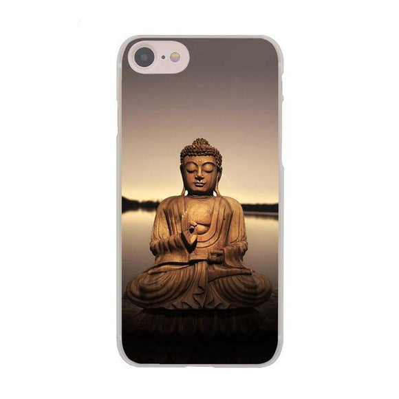 Galactic Gautama Buddha India Hard Cover Case for Apple iPhone