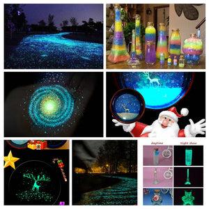 Glow in The Dark Luminous Sand Fluorescent Particle Decoration Luminous Ball