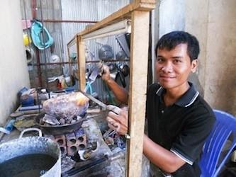 The Artisans Who Create Bullet Bomb Jewelry (Cambodia)