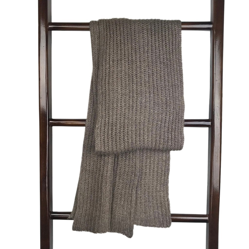 Fawn Knit Cashmere Scarf