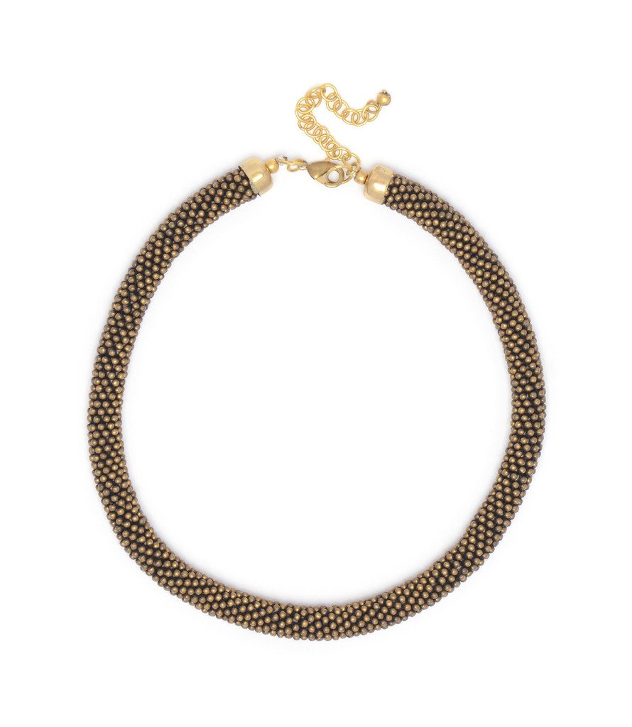 Agnayi Woven Bead Necklace - Matr Boomie (Jewelry)