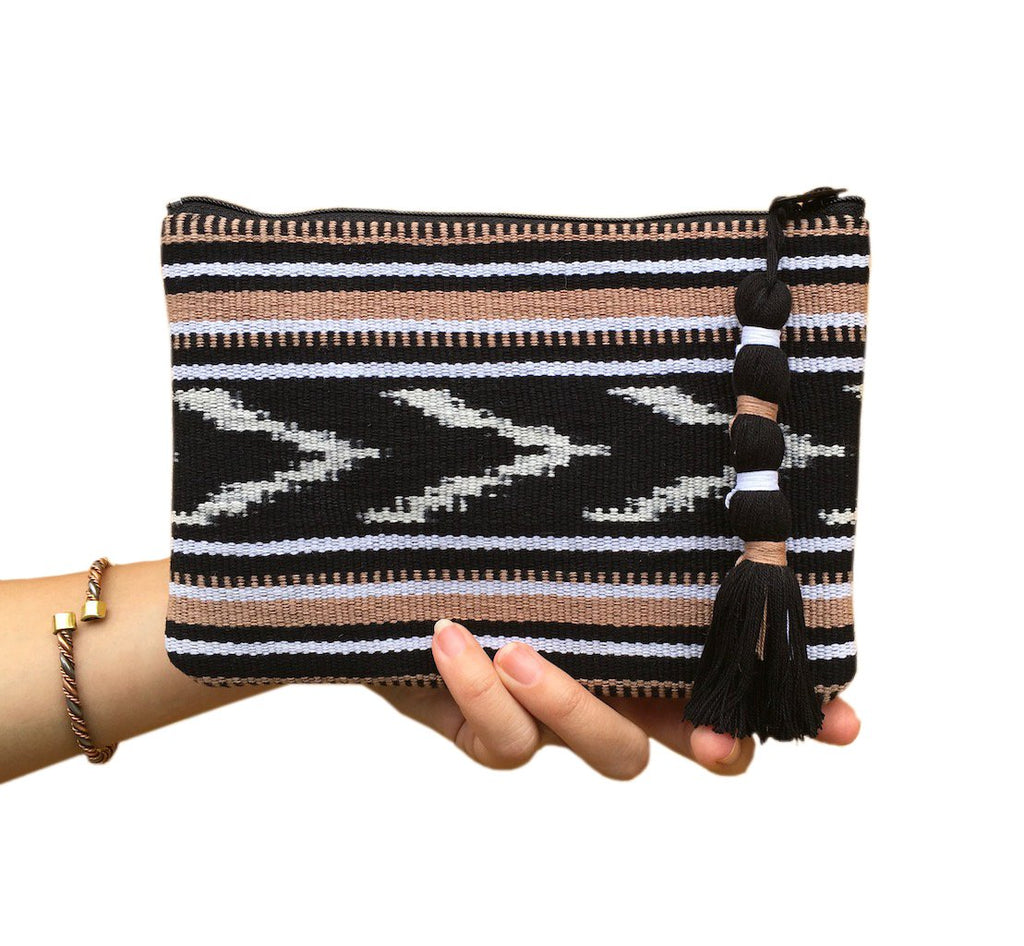 Ikat Backstrap Clutch