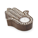 Aashiyana Tea Light Holder - Hamsa - Matr Boomie (Candle)
