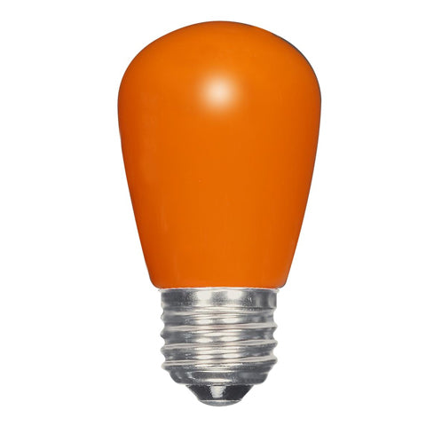 1.4W LED S14 Sign Orange Medium Base Lamp