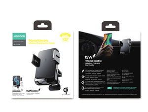 Joyroom Super Fast 15W Car Wireless Charger Holder - Deal Gamed