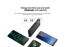 Load image into Gallery viewer, Joyroom Power Bank 10000 mAh 2 USB D-M219 - Deal Gamed