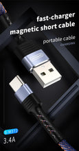 Load image into Gallery viewer, JOYROOM 3.4A Mini Magnetic Braided Type-C Cable - Deal Gamed
