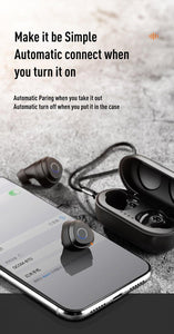 Joyroom Mini Bluetooth Waterproof Touch Earphone JR-TL1 - Deal Gamed
