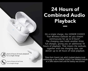 Honor Choice X1 Stereo Earphone Noise Cancellation 4-Mic - Deal Gamed