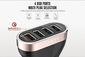 LDNIO 4 USB Fast Charger 7A Qualcomm 2.0 C701Q - Deal Gamed