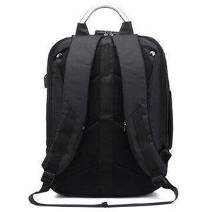 "17"" Fashion Style Ant-Theft Waterproof USB Backpack - Deal Gamed"
